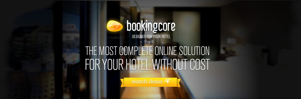 THE MOST COMPLETE ONLINE SOLUTION FOR YOUR HOTEL WITHOUT COST.