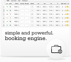 Booking Engine. Simple and powerful.